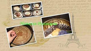пирог Зебра классический рецепт/ Zebra pie