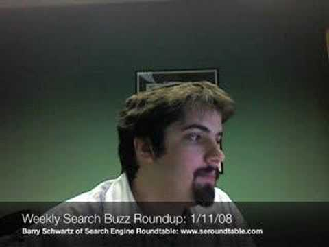 Weekly Search Engine Roundtable Recap: 1/11/08