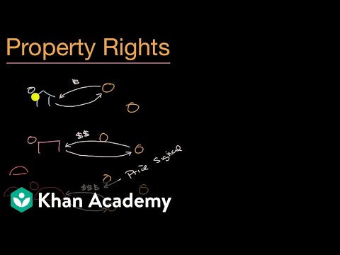 Property rights in a market system | Basic Economic Concepts | AP(R) Microeconomics   | Khan Academy