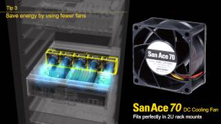 Server Cooling Application – San Ace Cooling Systems