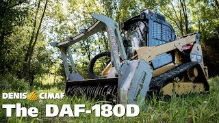 DAF-180D - For Skid-steers and other carriers with front-mount - DENIS CIMAF inc.