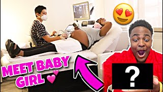 MEET OUR BEAUTIFUL BABY GIRL! 💕 FIRST 4D ULTRASOUND *VERY EMOTIONAL*