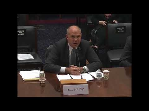 House Foreign Affairs Committee Hearing-Derek Maltz 011018