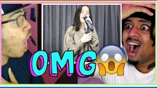 Daneliya Tuleshova - Bellyache (Cover) Live [REACTION]