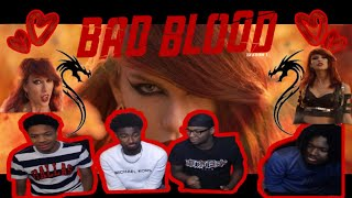 FIRST TIME HEARING Taylor Swift - Bad Blood ft. Kendrick Lamar REACTION