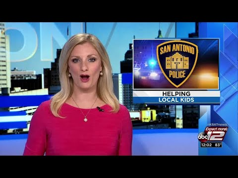 Video: SAPD, Big Brothers Big Sisters announce partnership (Clip 1)
