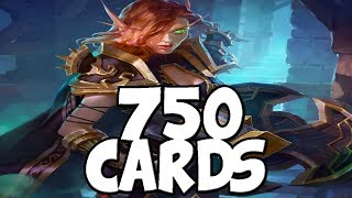 750 Cards Drawn With Lynessa In One Turn | Kobolds & Catacombs