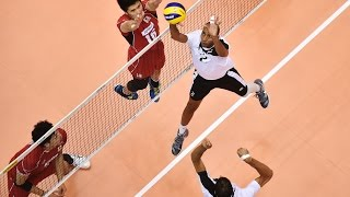 FIVB 2015 World Cup : Japan vs Egypt Men's Volleyball Highlights (日本バレーボール)
