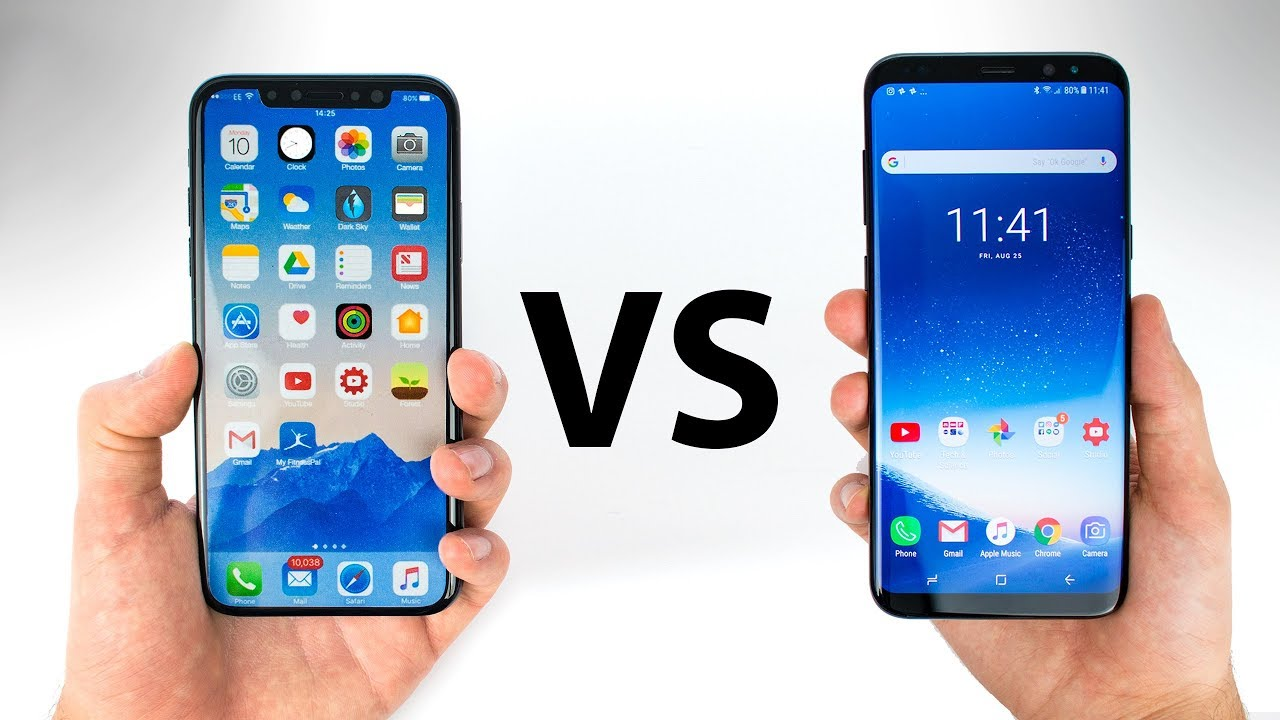 Galaxy S8 Specs Vs Iphone X