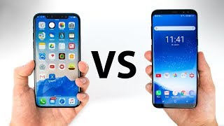 iPhone 8 (X) VS Galaxy S8 - Everything You Need to Know!