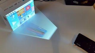 Mini LED Video Projector / Android 6 / Quad Core / 2GB+16GB / Qintaix MSP05