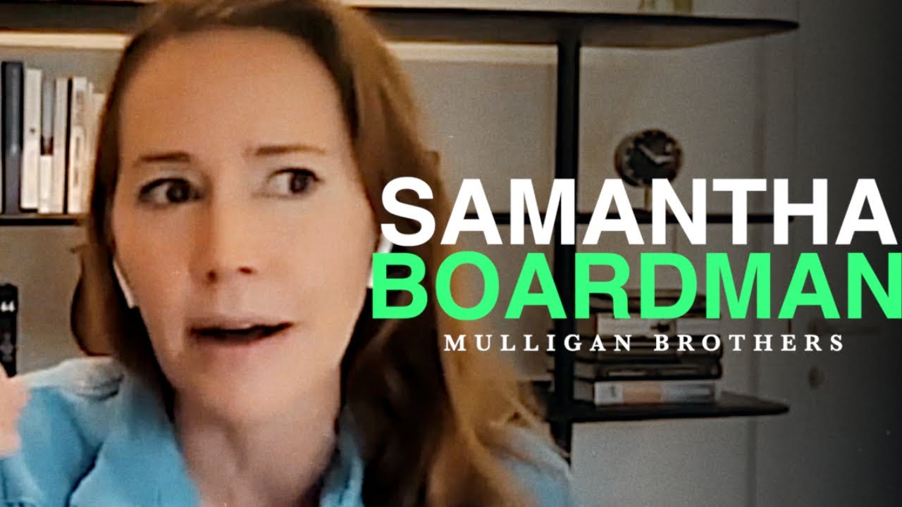 DR. SAMANTHA BOARDMAN   POSITIVE PSYCHIATRIST - Full Interview with the MulliganBrothers
