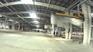Огнезащита металлоконструкций с использованием огнезащитных красок на органической основе №14(Наша организация в данном видео занимается проведением работ по огнезащите несущих металлических констру..., 2016-04-07T18:38:32.000Z)