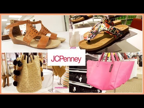 #JCPENNEY Ladies Spring Summer Shoes And Bags 2019