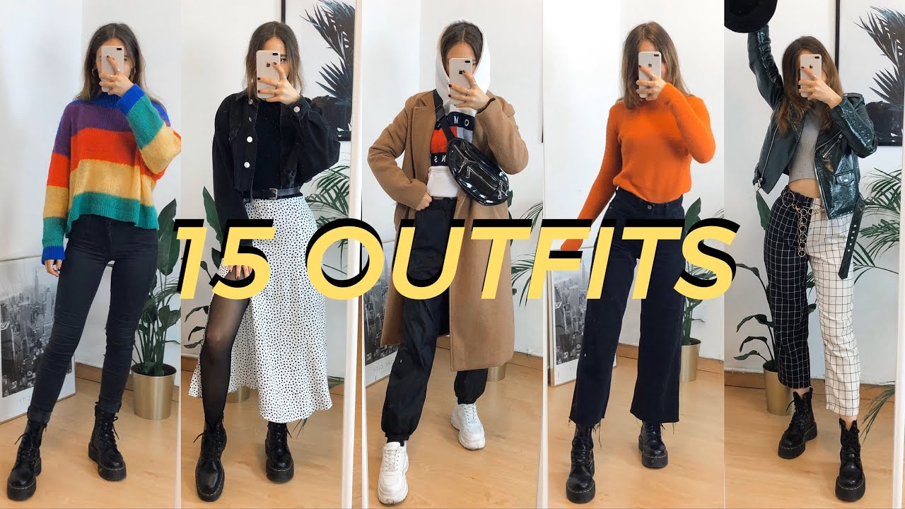 [VIDEO] - 15 IDEAS DE OUTFITS TUMBLR PARA OTOÑO? | Ops Katya 1