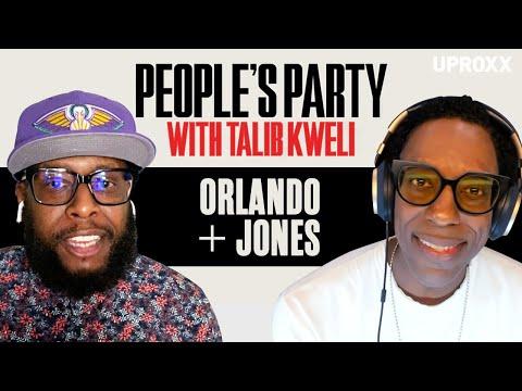 Talib Kweli & Orlando Jones Talk 'American Gods' Firing, MADtv, 7UP, Activism | People's Party Full