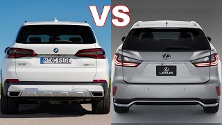 2019 Lexus RX vs BMW X5 2019 Competitive Walkaround Review.