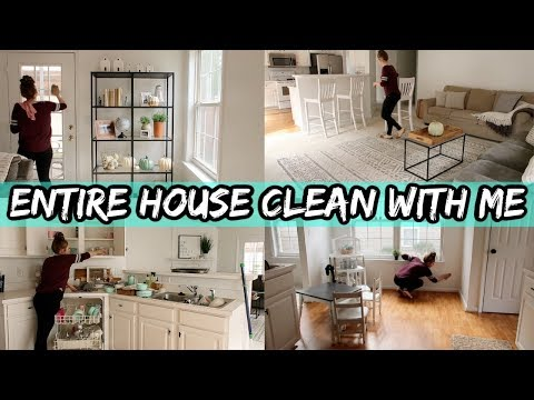 Entire House Clean With Me | Cleaning Motivation | Speed Clean | Cleaning Videos