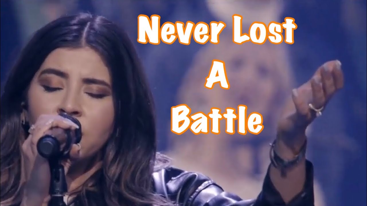 you never lost a battle elevation worship