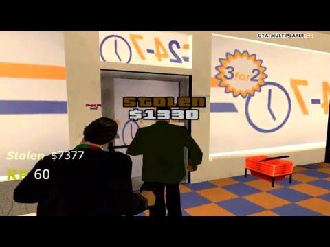 GTA-MP.CZ | Side Activities To Earn Money - Robbing Shops