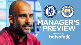 PEP GIVES AGUERO UPDATE | Chelsea vs Manchester City | Press Conference