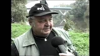 Kralupy TV: Vypouštění řeky Vltavy - kralupští rybáři v akci (25. 9. 2001)