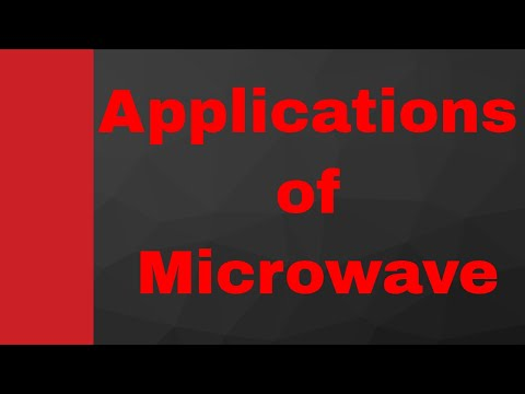 Applications of Microwave, Transmission Line, Microwave Engineering, Wave Guide, Hitesh Dholakiya
