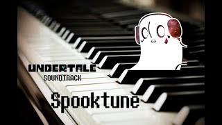 UNDERTALE - Spooktune - Piano