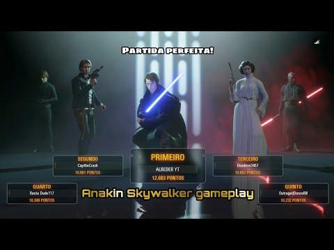 Download Gameplay Star Wars Battlefront 2 | Modo Heróis vs Vilões | Anakin Skywalker gameplay