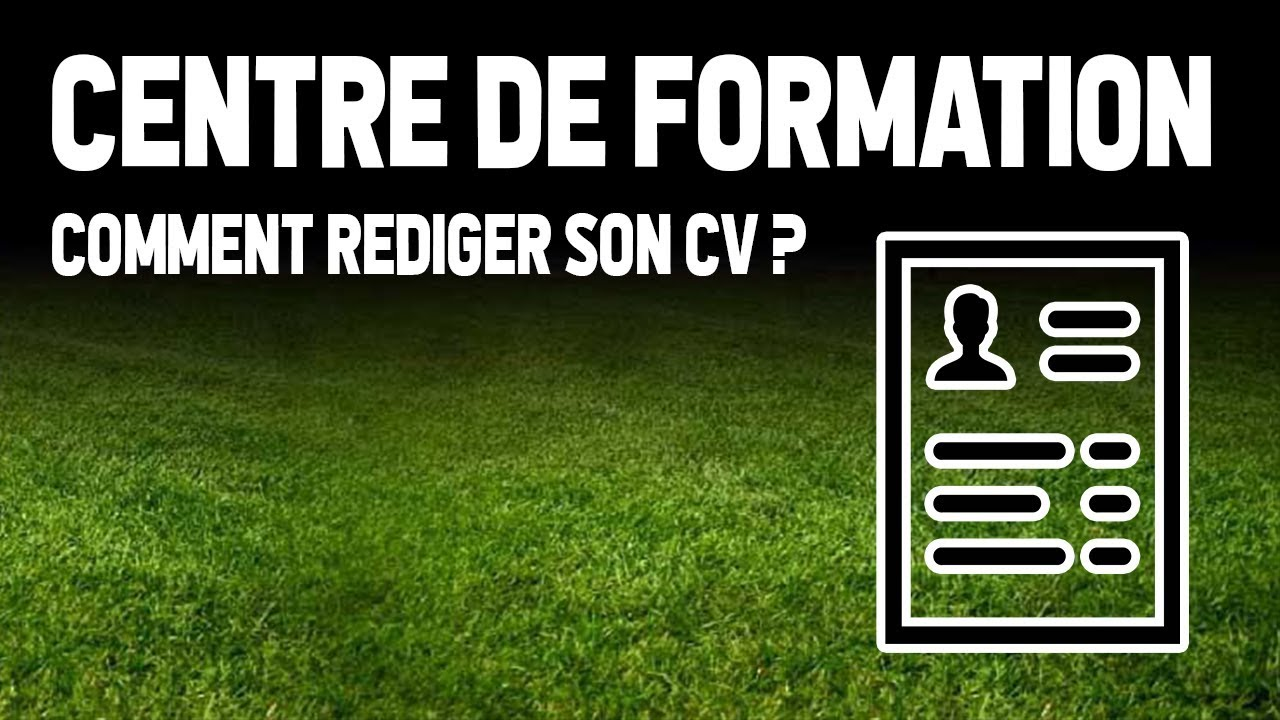 football   comment faire un cv
