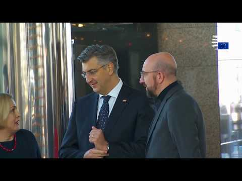 President Michel on the first Croatian EU Presidency - Highlights