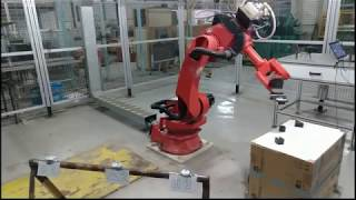 Implementation of a Computer Vision System on an Industrial Robotic Arm