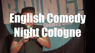 English Comedy Night Cologne - this Wednesday!