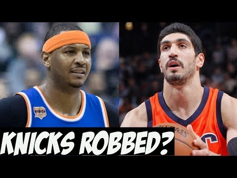 Knicks Robbed In Carmelo Anthony Trade To Thunder?