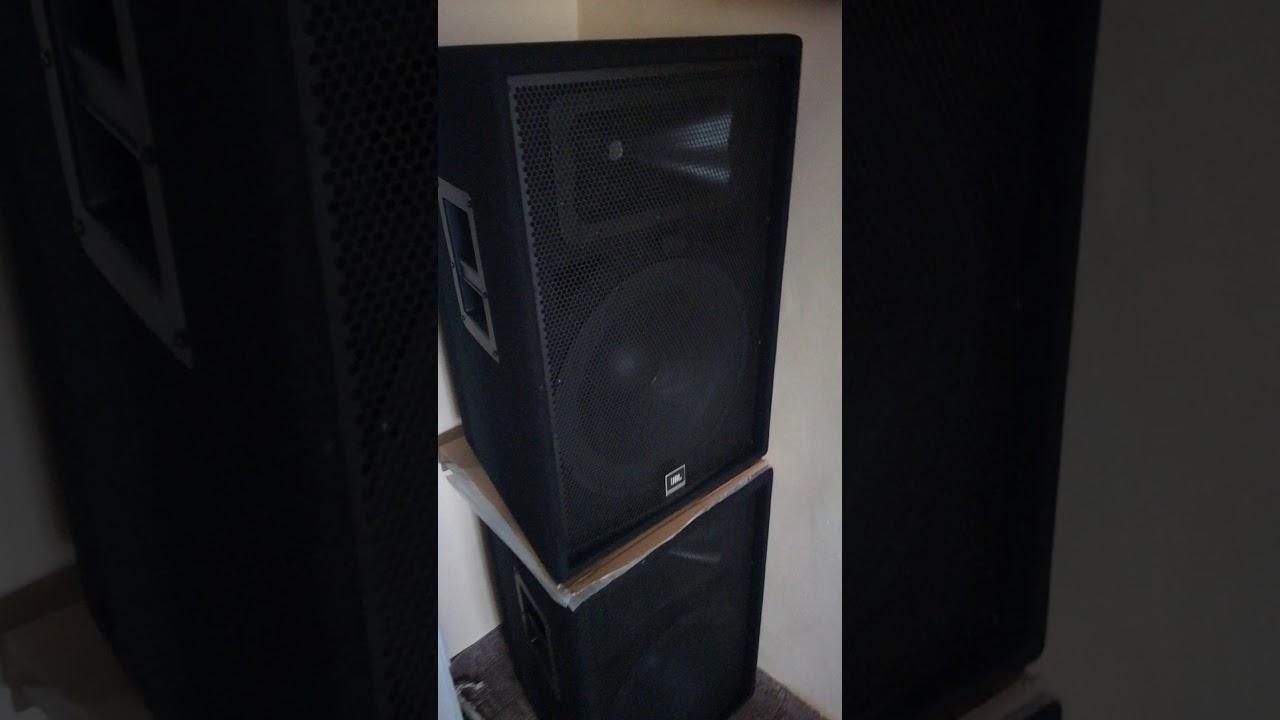 Jbl Jrx215 Crown Xls1500 Sound Test Youtube
