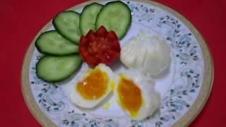 Яйца Пашот в Пакете\ Необычный Завтрак из Яиц