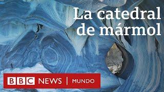 Cómo se formó la impresionante Catedral de mármol de la Patagonia