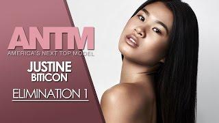 America's Next Top Model Cycle 23 Elimination 1 Justine Biticon