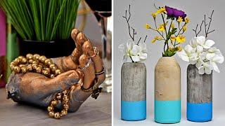 11 सीमेंट शिल्प | Cement ke Gamle | Cement Craft Ideas in Hindi | हिंदी DIY वीडियो | Blossom India