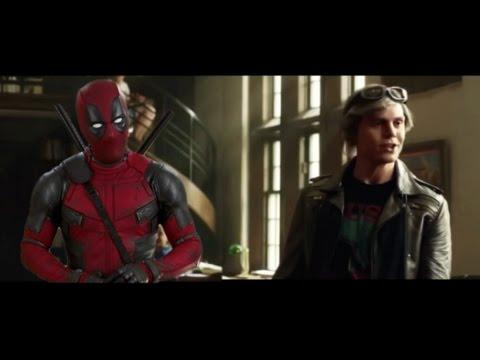 Quicksilver VS DeadPOOL (Ryan Reynolds & Evan Peters)
