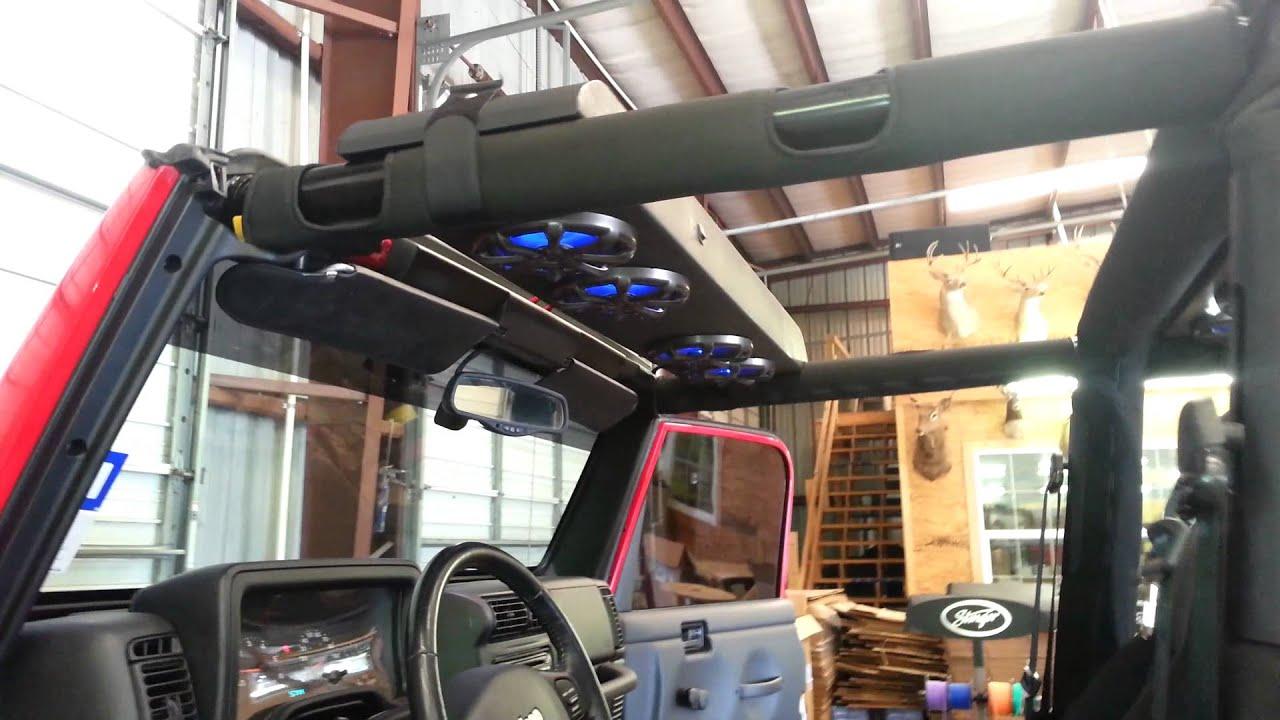 Jeep Overhead Console Youtube