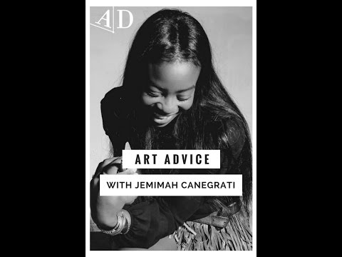 Art Career Advice from Jemimah Canegrati: Adelaide Damoah Art Discussion