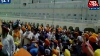 Sikhs Protest Against 1984 Golden Temple Carnage