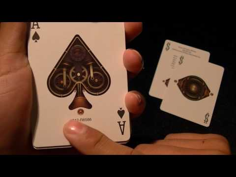 Bicycle/Theory 11 Bronze Steampunk Deck Review
