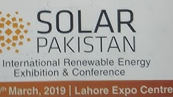 Solar Exhibition at Expo Centre Lahore on 29 March 2019