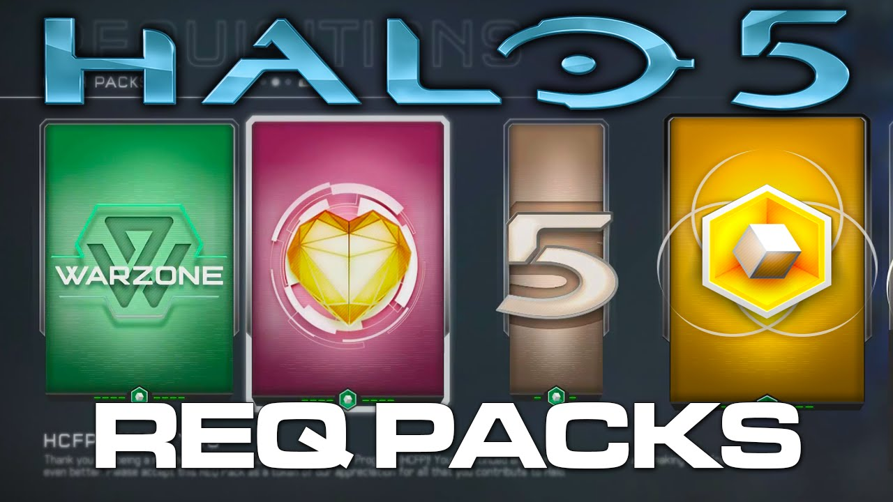 Halo 5: Guardians - First REQ Pack Opening! (Premium, Gold, HCFP Packs)