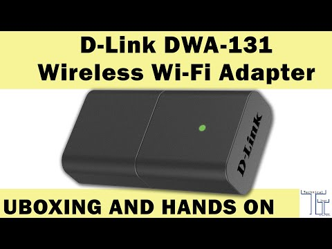 D-link Dwa-131 Unboxing And Hands On By Technical IMAN