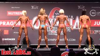 Bikini up to 168cm Olympia Amateur Europe 2014