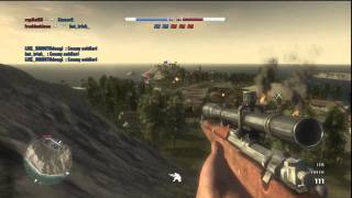 050911 Battlefield:1943 Gameplay (Sniper)