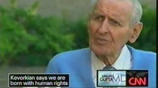 Dr. Jack Kevorkian interviewed by Dr. Sanjay Gupta   part 2